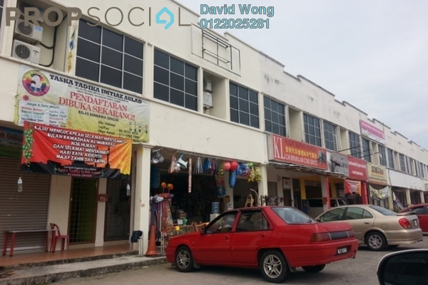 For Rent Shop at Taman Kajang Impian, Kajang Freehold Unfurnished 0R/1B 3k