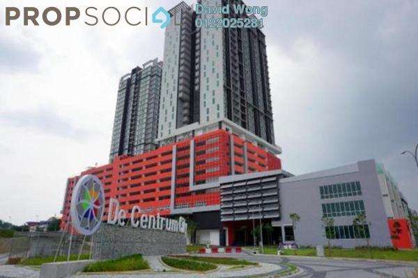For Rent Condominium at De Centrum Unipark Condominium, Kajang Freehold Fully Furnished 1R/2B 1.5k