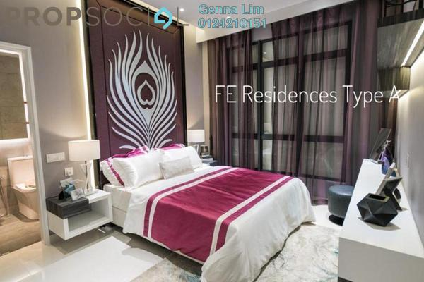 For Sale Serviced Residence at Far East Residence, Kuchai Lama Leasehold Semi Furnished 2R/2B 440k