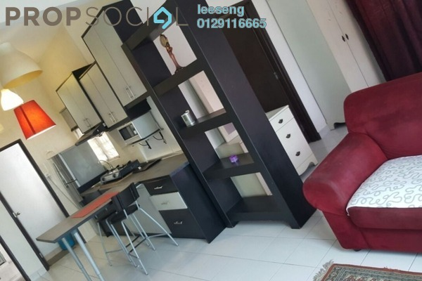 For Rent SoHo/Studio at e-Tiara, Subang Jaya Freehold Fully Furnished 1R/1B 1.6k