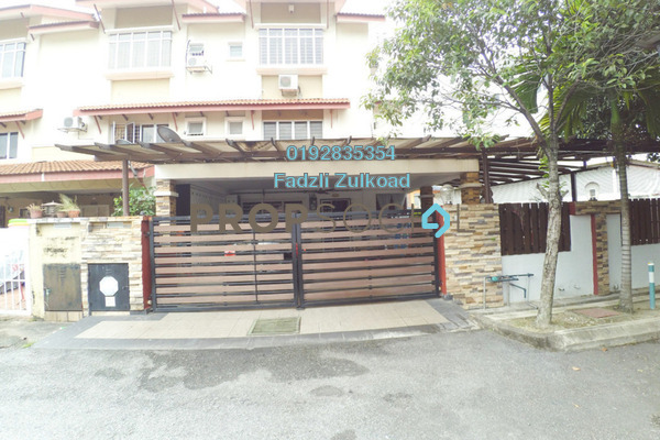 For Sale Terrace at Taman Kosas, Ampang Leasehold Semi Furnished 5R/4B 1.1m