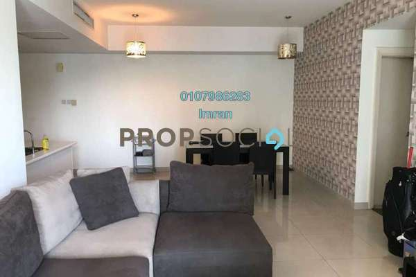 For Rent Serviced Residence at Solaris Dutamas, Dutamas Freehold Fully Furnished 2R/2B 3.6k