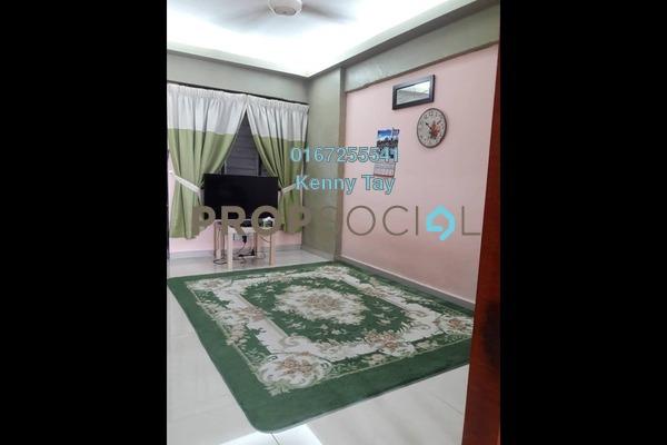 For Sale Apartment at Mutiara Fadason, Jinjang Freehold Semi Furnished 3R/2B 145k