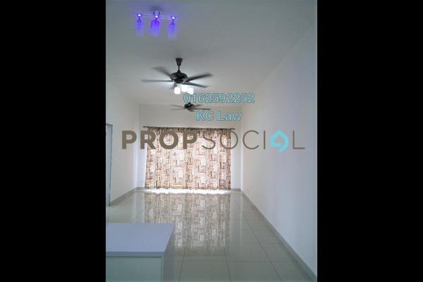 For Rent Condominium at Taman Tasik Prima, Puchong Freehold Semi Furnished 2R/2B 1k
