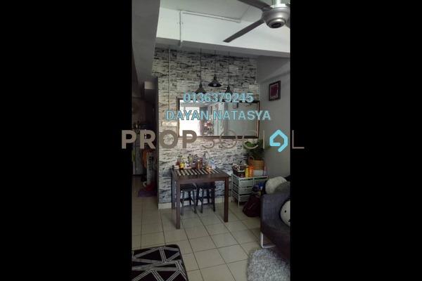 For Sale Duplex at Casmaria Apartment, Batu Caves Freehold Semi Furnished 3R/2B 295k