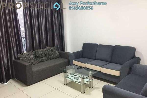 For Rent Condominium at Zeva, Bandar Putra Permai Freehold Fully Furnished 2R/2B 1.3k