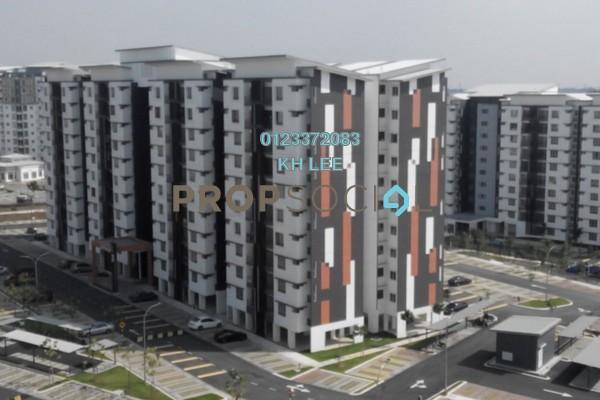 For Rent Apartment at Seri Kasturi, Setia Alam Freehold Semi Furnished 3R/2B 908translationmissing:en.pricing.unit