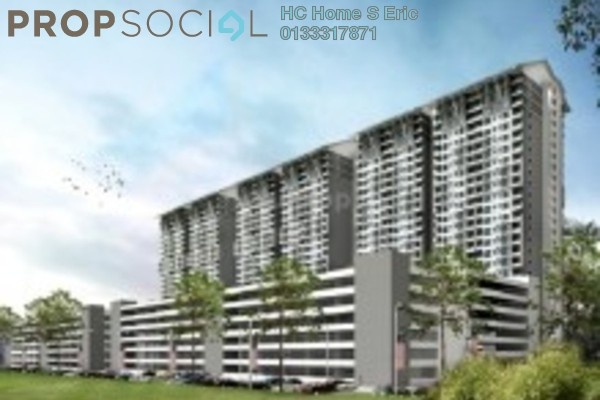 For Rent Serviced Residence at Kiara Plaza, Semenyih Freehold Unfurnished 1R/1B 1k