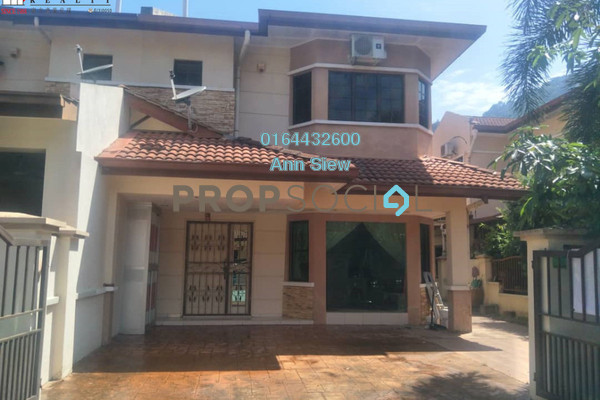 For Rent Semi-Detached at Sunway City Ipoh, Tambun Freehold Semi Furnished 4R/3B 1.5k