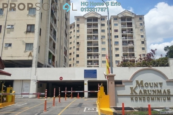 For Rent Condominium at Mount Karunmas, Balakong Freehold Unfurnished 3R/2B 850translationmissing:en.pricing.unit
