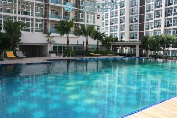 For Rent Condominium at Mutiara Ville, Cyberjaya Freehold Fully Furnished 1R/1B 1.1k