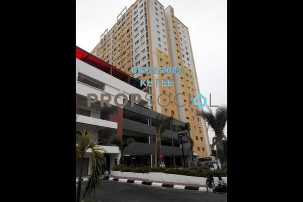 For Rent Apartment at Palm Garden Apartment, Klang Freehold Unfurnished 3R/2B 750translationmissing:en.pricing.unit