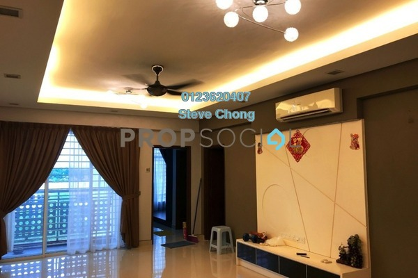 For Sale Apartment at Bukit Segambut, Segambut Freehold Semi Furnished 3R/2B 430k