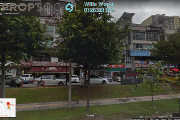 For Sale Shop at Metro Genting Klang, Setapak Freehold Semi Furnished 0R/0B 600k