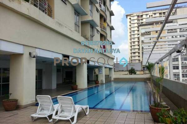 For Sale Condominium at Warisan Cityview, Cheras Freehold Semi Furnished 3R/2B 480k