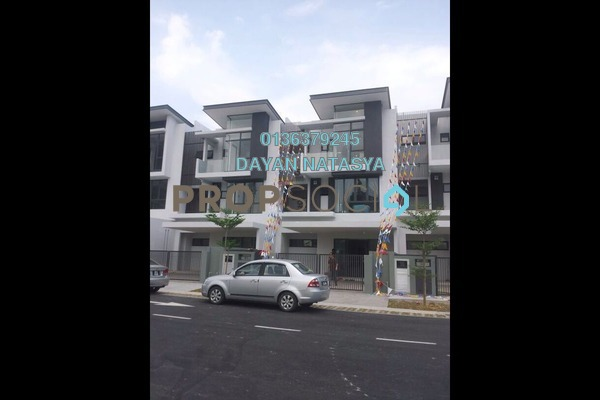 For Sale Superlink at Mutiara Heights, Kajang Freehold Unfurnished 5R/4B 860k