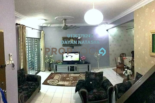 For Sale Terrace at Sunway Alam Suria, Shah Alam Freehold Semi Furnished 4R/3B 430k