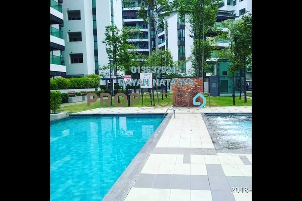 For Sale Condominium at Serin Residency, Cyberjaya Freehold Semi Furnished 3R/2B 430k