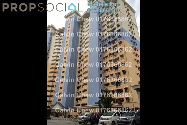 For Sale Condominium at Vista Komanwel, Bukit Jalil Freehold Unfurnished 3R/2B 387k