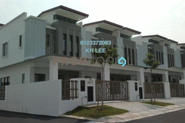 For Rent Terrace at Setia Indah, Setia Alam Freehold Semi Furnished 4R/3B 1.6k