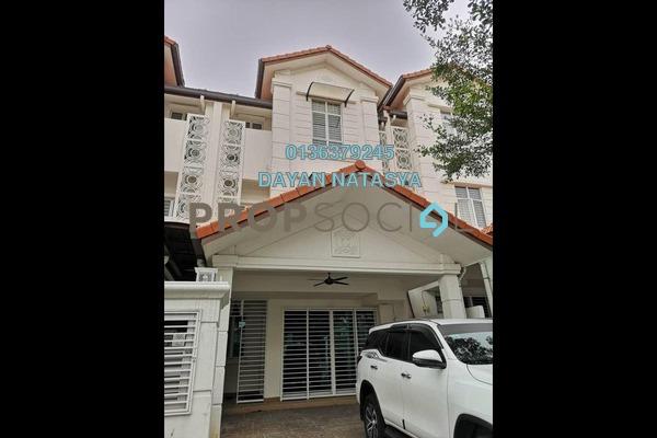 For Rent Superlink at Anjung Sari, Setia Alam Freehold Semi Furnished 6R/5B 2.5k