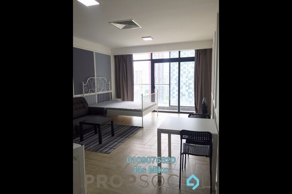 For Rent SoHo/Studio at Empire City, Damansara Perdana Freehold Fully Furnished 1R/1B 1.3k