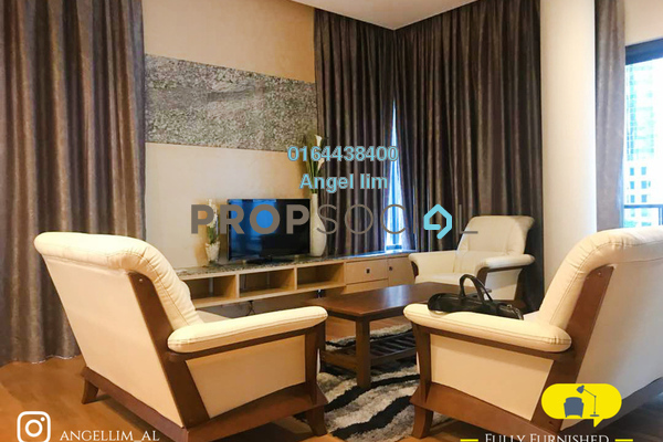 For Rent Condominium at St Mary Residences, KLCC Freehold Fully Furnished 1R/2B 4.8k