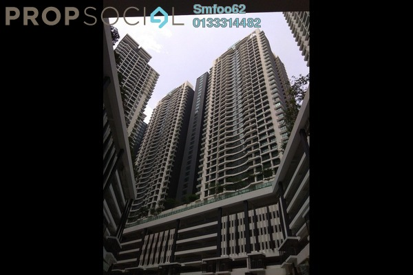 For Rent Condominium at KL Traders Square, Kuala Lumpur Freehold Semi Furnished 3R/2B 1.5k