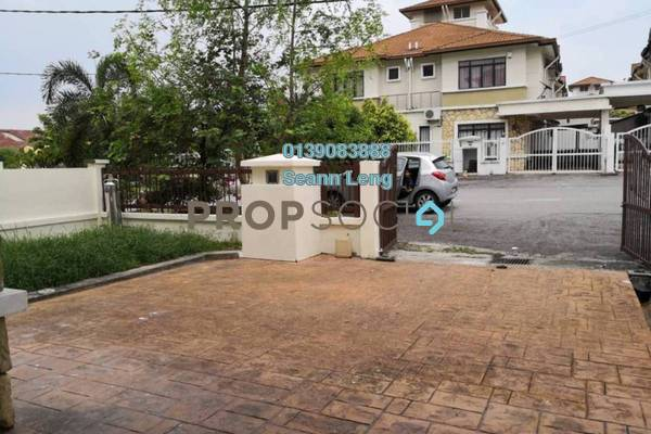 For Sale Semi-Detached at Mutiara Indah, Puchong Freehold Unfurnished 4R/3B 758k
