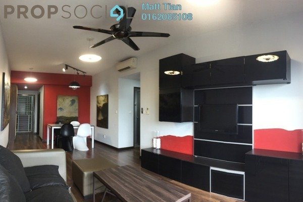 For Sale Condominium at Axis Residence, Pandan Indah Freehold Semi Furnished 3R/2B 420k
