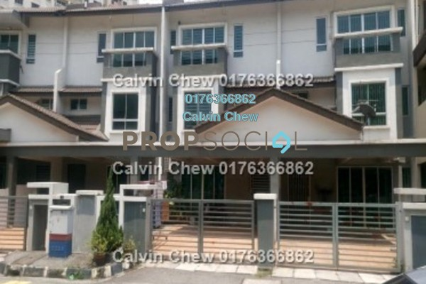 For Sale Terrace at Prai Tropika, Seberang Jaya Freehold Unfurnished 5R/4B 366k