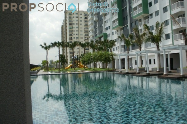 For Sale Condominium at Alam Sanjung, Shah Alam Freehold Fully Furnished 3R/2B 444k