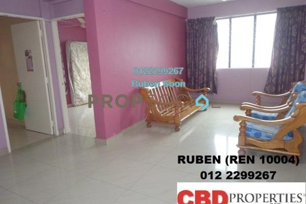 For Rent Apartment at Taman Bukit Angkasa Flat, Pantai Freehold Unfurnished 3R/1B 1.5k