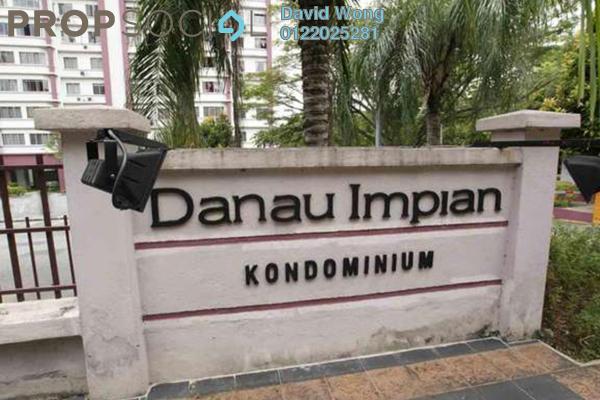 For Rent Condominium at Danau Impian, Taman Desa Freehold Fully Furnished 3R/2B 1.3k
