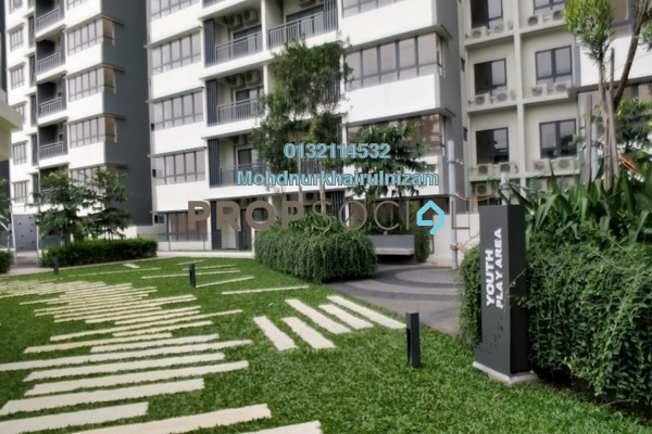 For Sale Serviced Residence at Suria Residence, Bukit Jelutong Freehold Unfurnished 2R/1B 540k