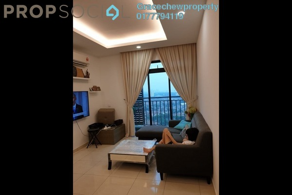 For Rent Serviced Residence at Sky Breeze, Bukit Indah Freehold Fully Furnished 2R/2B 2.38k