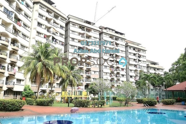 For Rent Condominium at Sri Jelatek, Wangsa Maju Freehold Semi Furnished 4R/2B 1.8k