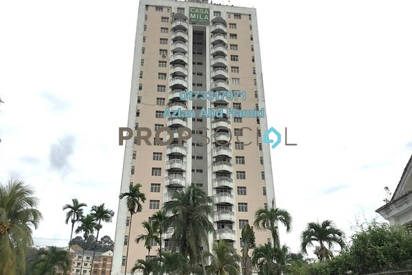 For Sale Condominium at Casa Mila, Selayang Freehold Fully Furnished 3R/2B 950k
