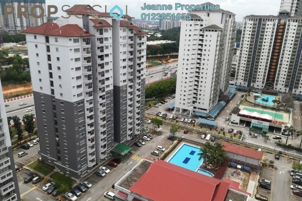 For Sale Condominium at Endah Ria, Sri Petaling Leasehold Unfurnished 3R/2B 550k