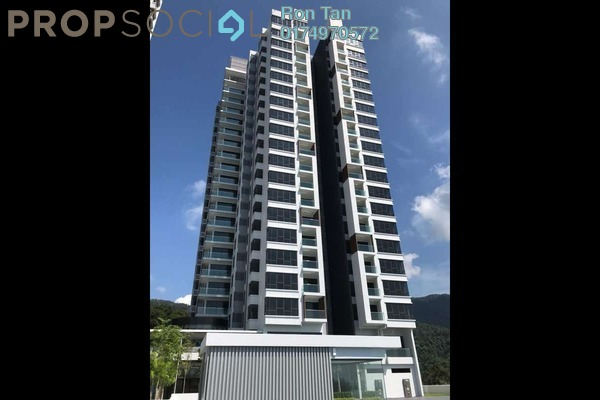 For Sale Condominium at The Marin, Batu Ferringhi Freehold Semi Furnished 3R/3B 1.8m