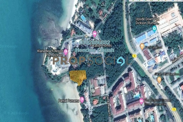 For Sale Land at Teluk Kemang, Port Dickson Freehold Unfurnished 1R/1B 6.53m