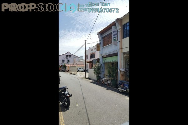 For Sale Terrace at Lebuh Pasar, Georgetown Freehold Fully Furnished 2R/3B 1.9m