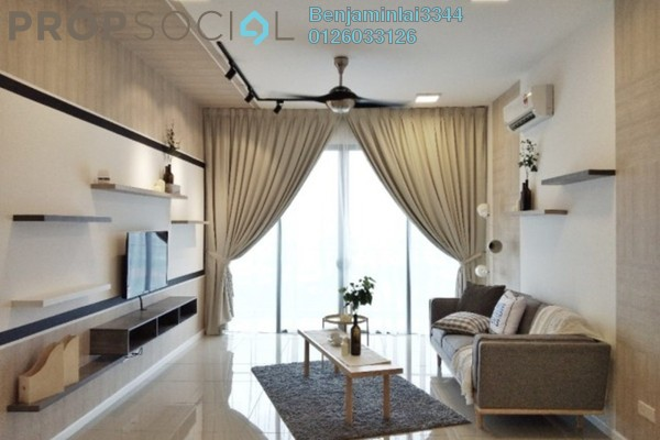 For Rent Condominium at Anjali @ North Kiara, Segambut Freehold Semi Furnished 3R/4B 4.5k