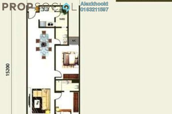 For Rent Condominium at Royal Regent, Dutamas Freehold Semi Furnished 2R/2B 1.8k