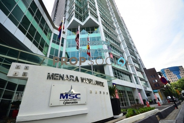 For Rent Office at Menara Worldwide, KLCC Freehold Semi Furnished 0R/0B 26k
