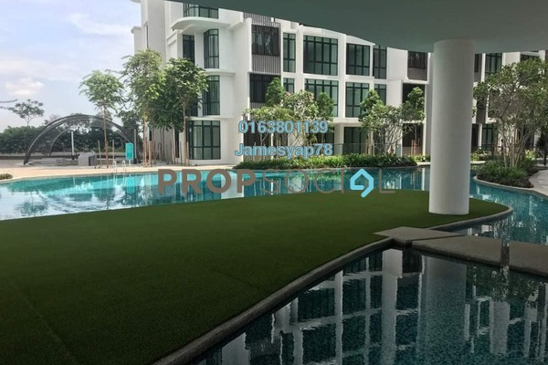 For Rent Condominium at H2O Residences, Ara Damansara Freehold Fully Furnished 2R/2B 2.3k