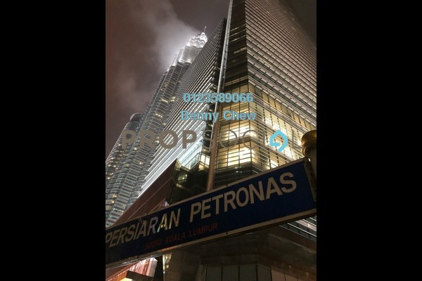 For Rent Office at Petronas Twin Towers, KLCC Freehold Semi Furnished 0R/0B 45k