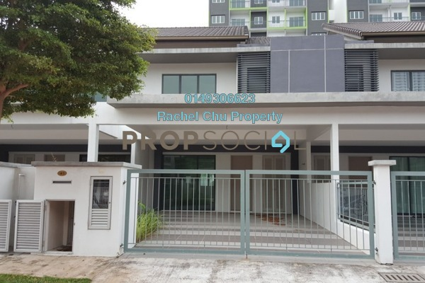 For Rent Terrace at Taman Semenyih Mewah, Semenyih Freehold Semi Furnished 4R/3B 1.2k