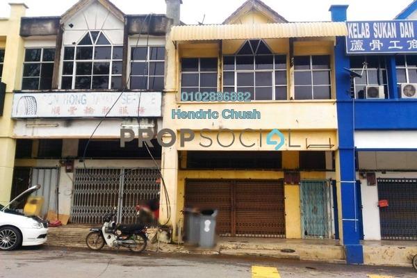 For Rent Shop at Lukut, Port Dickson Freehold Unfurnished 1R/1B 1.1k