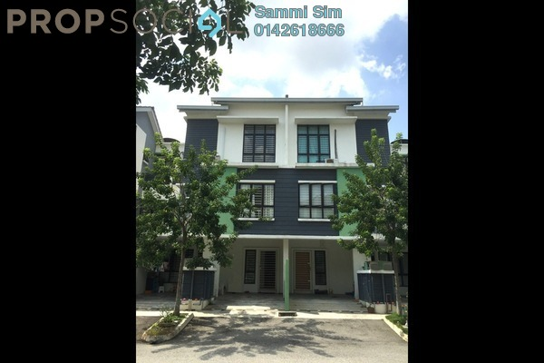 For Sale Townhouse at Park Villa, Bandar Bukit Puchong Freehold Semi Furnished 3R/2B 528k